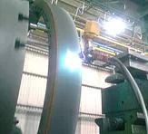 Flam Powder Spray Coating Process