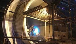 wire arc spray coating process